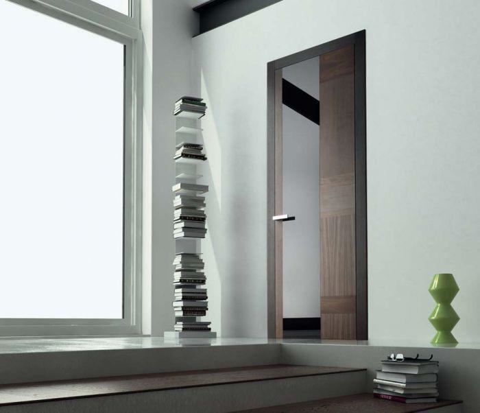 Stone Plus - Porta di design in legno e vetro