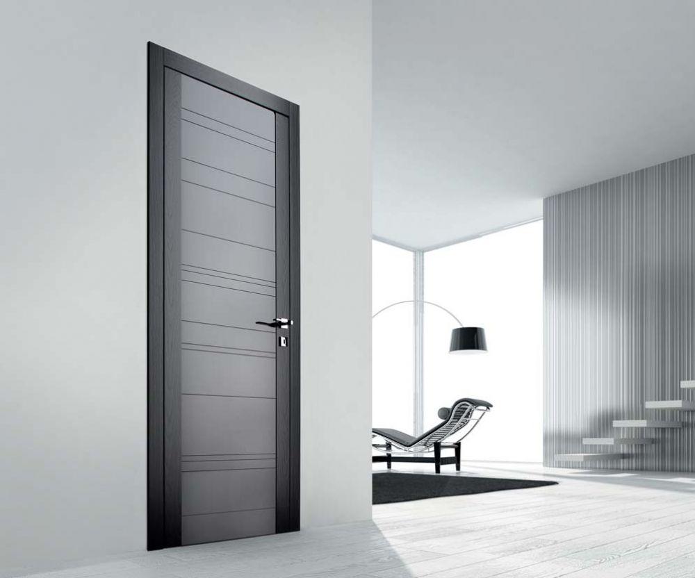 Glitter 16 - Porta per interni in frassino laccato