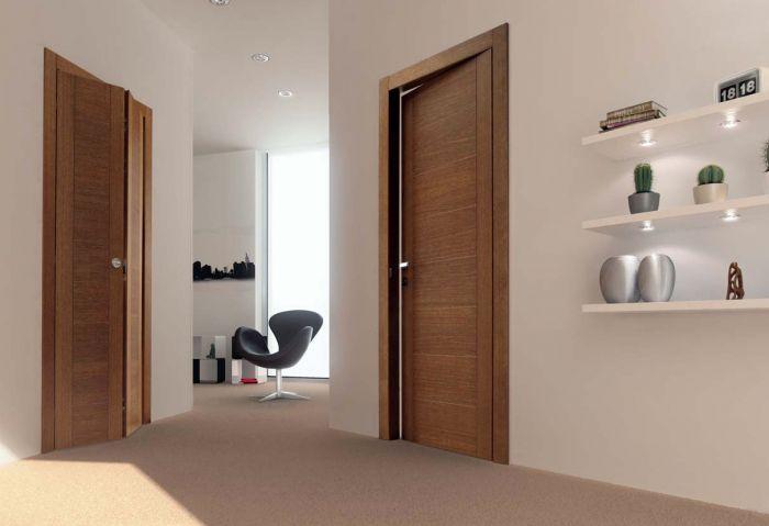 Tango 8 - Porte per interni in legno e rovere anticato