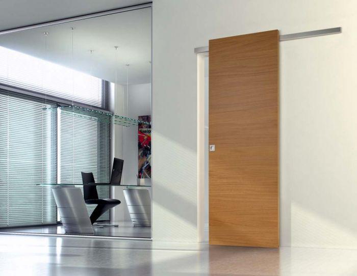 Strato - Porta per interni in legno di rovere