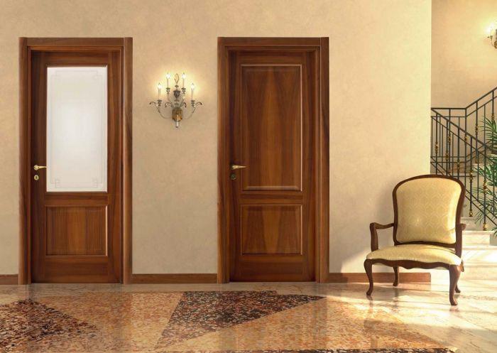Classic - Porte classiche in legno e vetro