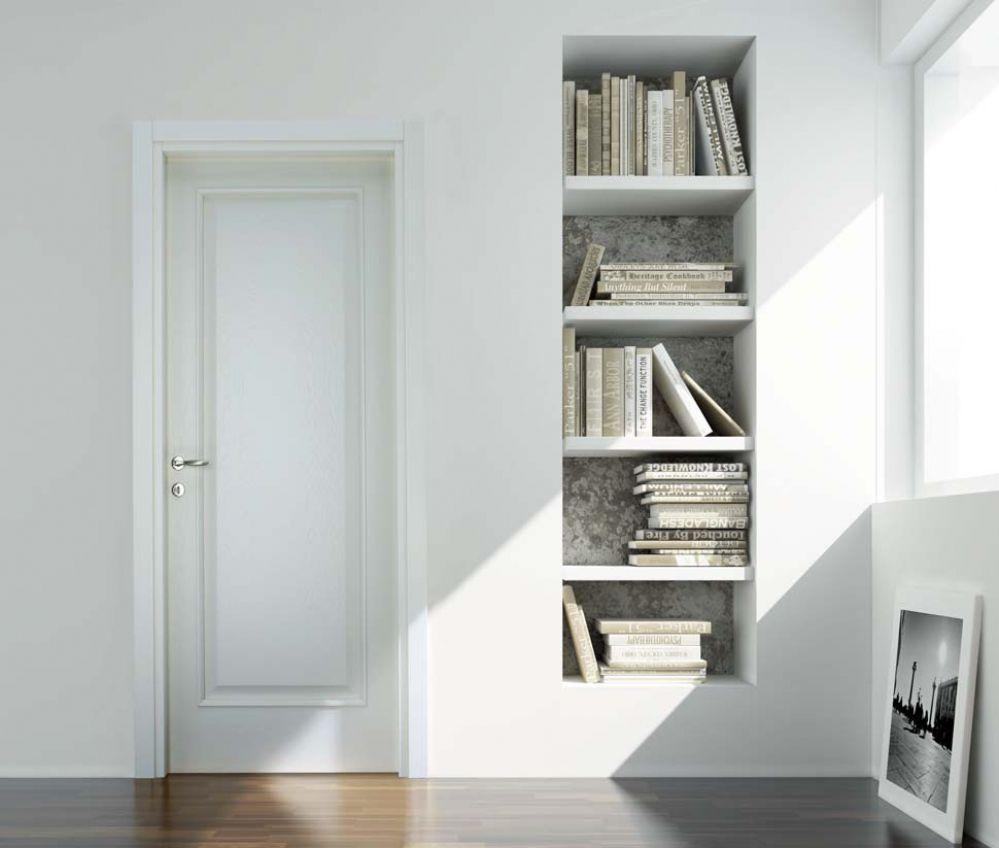 Ideal - Porta classica in legno di frassino