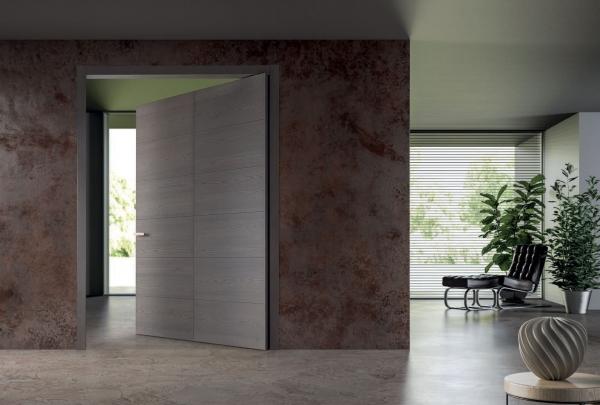 Tekna 6 - Porta per interni in frassino laccato